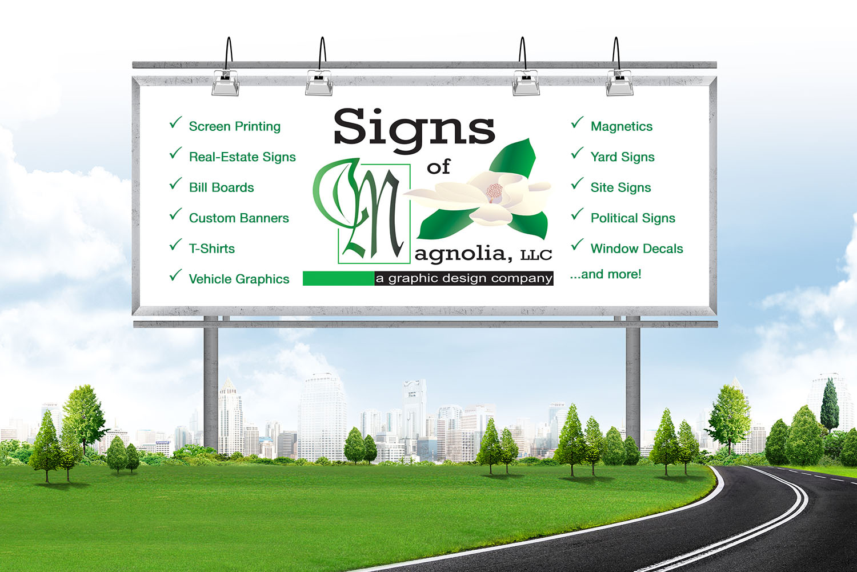 Signs of Magnolia, Texas Yard Signs Real Estate Signs T-shirts Vehicle Graphics Yard Signs